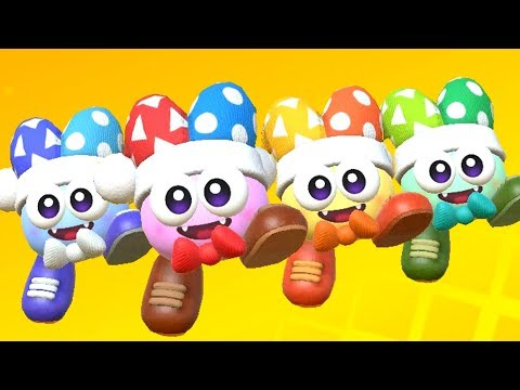 Kirby Star Allies - All Bosses with 4 Marx (Soul Melter Difficulty)