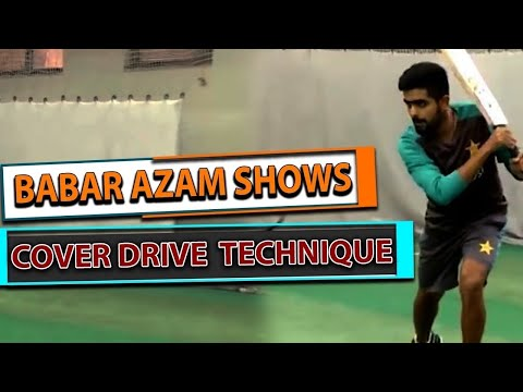 Ramiz Raja: Babar Azam shows cover drive technique | Master class reloaded