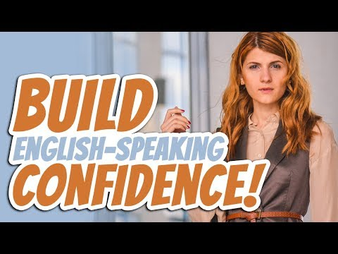 How to IMPROVE your English-Speaking Confidence!