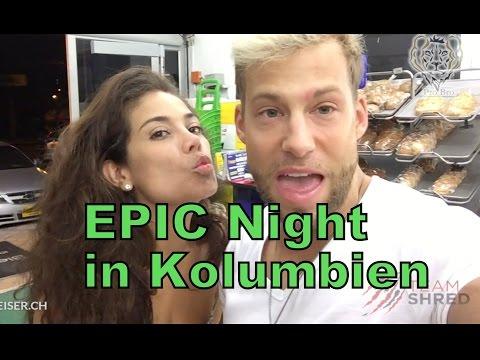 EPIC Night in Cartagena mit meinen Kolleginnen und Jill