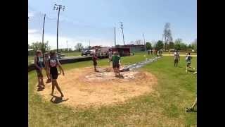 Physics- Kiddie Pool Kick Ball - Class of 2013 vs. Class of 2014