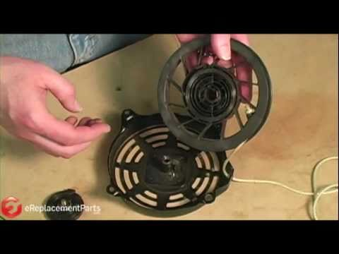 How to Repair a Small Engine Recoil Starter