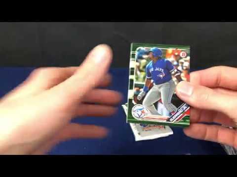 2019 Bowman Baseball Target Retail Hanger Pack Break