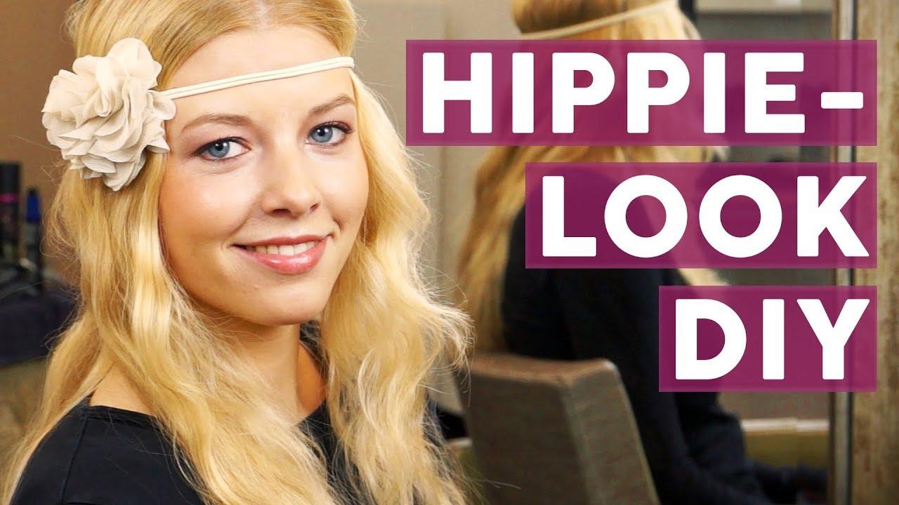 Festival Haare So Stylst Du Den Hippie Look Frisuren