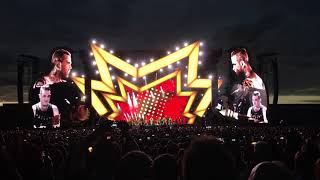 Robbie Williams in Prague 19.8.2017 The Heavy Entertainment Show (first 10 min.)