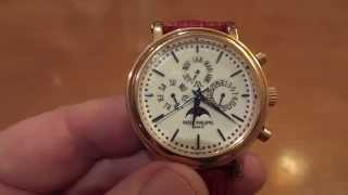Швейцарские часы за миллион $ !!! ))) Обзор.(, 2015-01-14T12:52:38.000Z)
