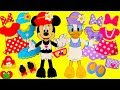 NEW Minnie Mouse and Daisy Disney Fashion Shopping Spree Haul Dress Up Mix and Match Wrong Clothes