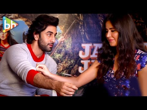 Ranbir Kapoor & Katrina Kaif's CHEMISTRY Is MINDBLOWING In This Interview Teaser| Jagga Jasoos
