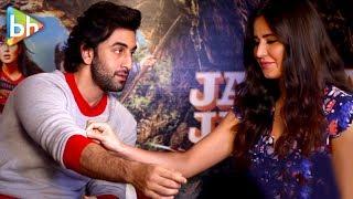 Ranbir Kapoor & Katrina Kaif's CHEMISTRY Is MINDBLOWING In This Interview Teaser| Jagga Jasoos
