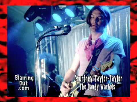 The Dandy Warhols Courtney Taylor  talks peace ,Iggy and Pot with Eric Blair