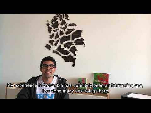 Poverty Eradication Testimonial : Internship in Colombia (Jorge)