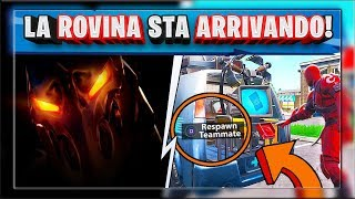 SKIN SEGRETA SEASON 8 FORTNITE! RESPAWN VAN BEFORE PRONTO! (season 8 fortnite)