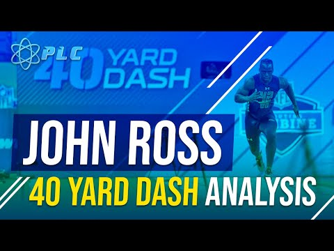 John Ross 40 4.22 Speed Breakdown | Performance Lab