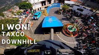 Remy Metailler wins in Down Taxco 2017 - Race run