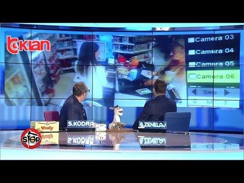 Stop - Vjedhje ne supermarket, gruaja merr parate ne banak! (12 shtator 2019)