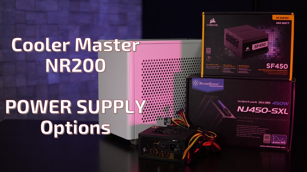 image from Testing Power Supply Options for the Cooler Master NR200
