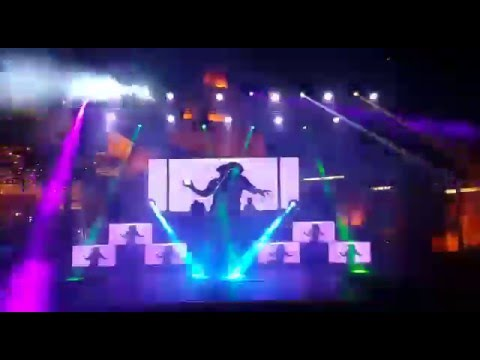 Dj N Stage Setup With Led Walls 09891478183 Youtube