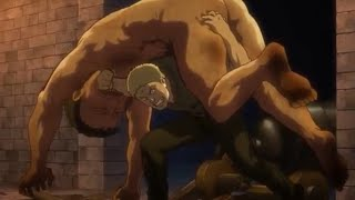 Reiner Saves Conny and Carries a Titan ! | Shingeki No Kyojin 2 | thumbnail