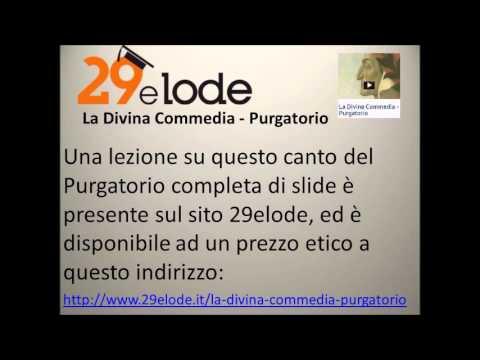 Prima parte del commento e della parafrasi del canto ventiquattresimo del Purgatorio vv.1-57