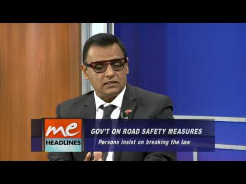 Minister of Works and Transport addresses Road Safety in T&T