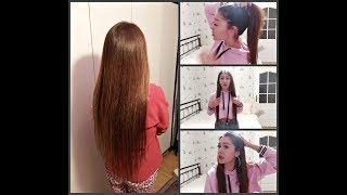 Нарастила волосы Моя история Вся правда Микрокапсулы Плюсы и минусы нарощенных волос