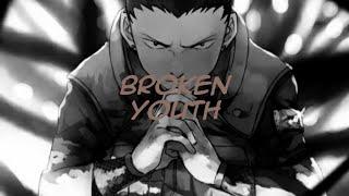 nico touches the wall – broken youth [naruto shippuden ed 6] (1 hour)