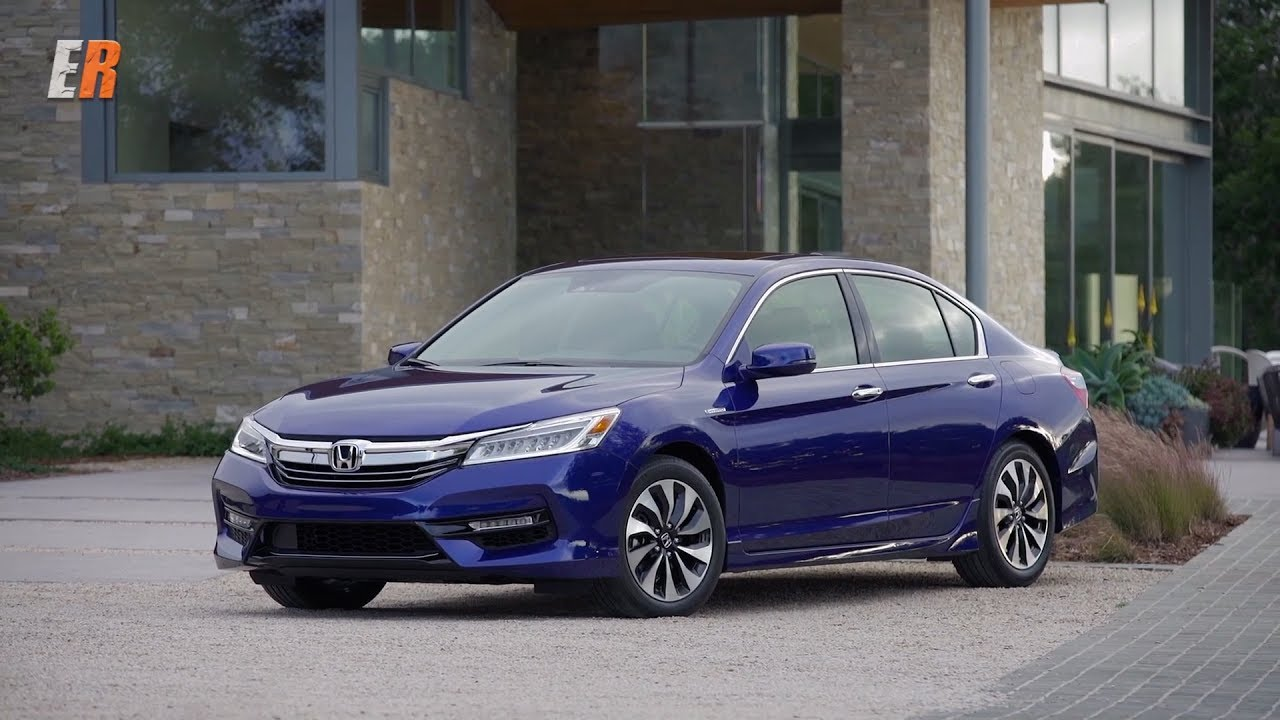 2017 Honda Accord Hybrid First Drive Review - YouTube