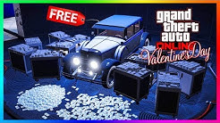 GTA 5 Online Valentine's Day 2020 DLC Update - NEW CONTENT! Diamonds In The Vault, FREE Cars & MORE!
