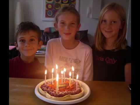 JOYEUX ANNIVERSAIRE - HAPPY BIRTHDAY