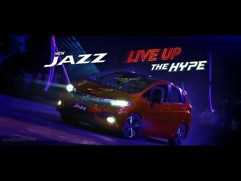 Iklan New Honda Jazz 2017 - LIVE UP THE HYPE 60sec (2017)