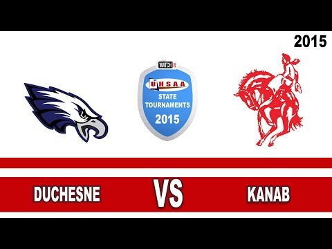 1A Football: Duchesne vs Kanab High School UHSAA 2015 State Tournament Semifinals