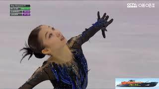 Элизабет Турсынбаева короткая программа на Shanghai Trophy 2019 Elizabet Tursynbaeva SP