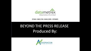 Datametrex (DM: TSXV) - The Small Cap A.I. Company With Three Big $1,000,000 Contracts In Q3