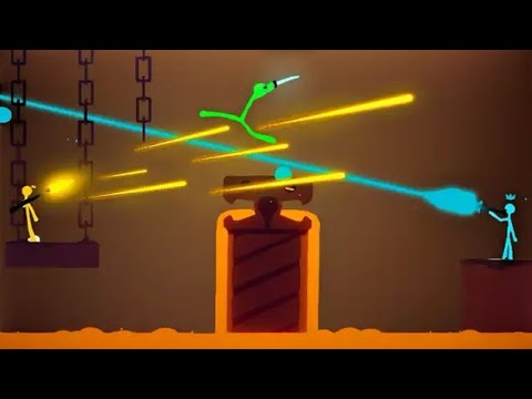 The ULTIMATE WEAPON in Stick Fight!  (Stick Fight Multiplayer Gameplay)