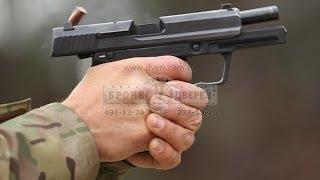 Расстрел бронедверей BODYGUARD™ ДВЗП 5/2 из пистолетов  bulletpruf test doors