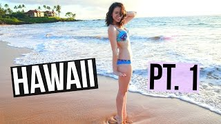 HAWAII VACATION! Part 1!