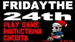 friday the 24th (especial de navidad 1)