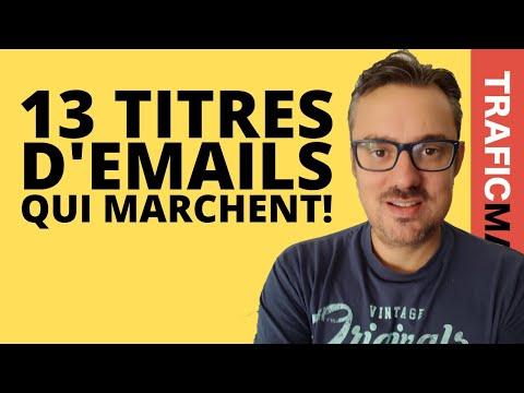 Newsletter: 13 exemples d'emails que les gens ouvrent (à recopier)