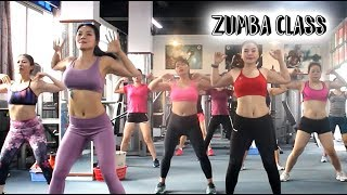Download lagu 22 Mins Aerobic reduction of belly fat quickly l Aerobic dance workout full video l Zumba Class