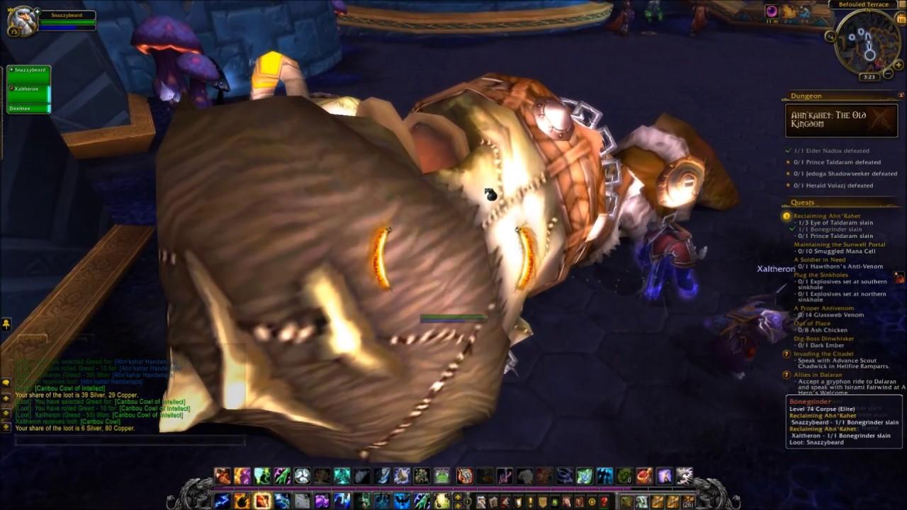 Ahn Kahet The Old Kingdom World Of Warcraft Every Dungeon Raid