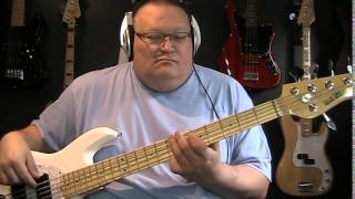 David Bowie Blue Jean Bass Cover with Bass Notes & Tablature