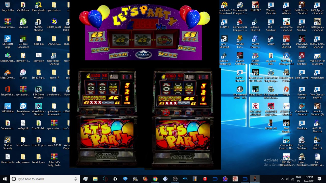 Astra Let's Party - £5 v2 By lewis_drfc features at long last