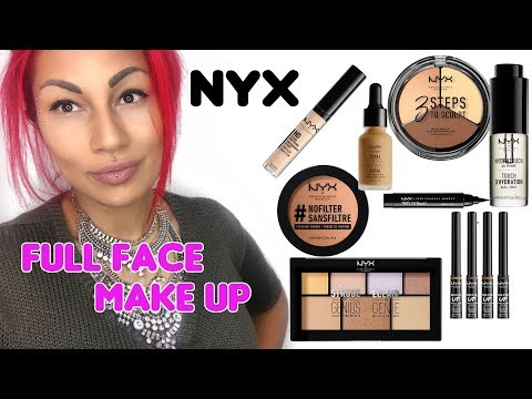 Full Face Make up only with NYX Pro Bar - First Impressions