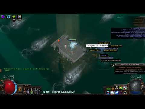 [PoE] Twitch Highlight: WTF is this DPS1? -Two second Hydra Demolition