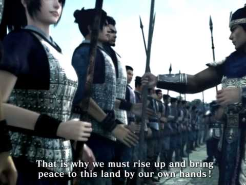 dynasty warriors online opening