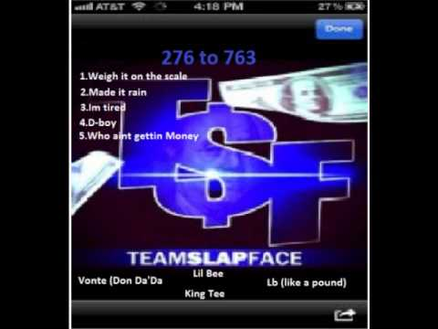 1.Teamslapface Weigh it on the scale