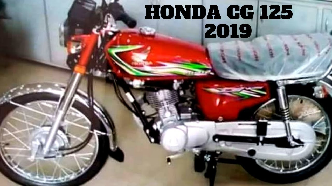 Honda Cg 125 2019 On Pk Bikes Youtube