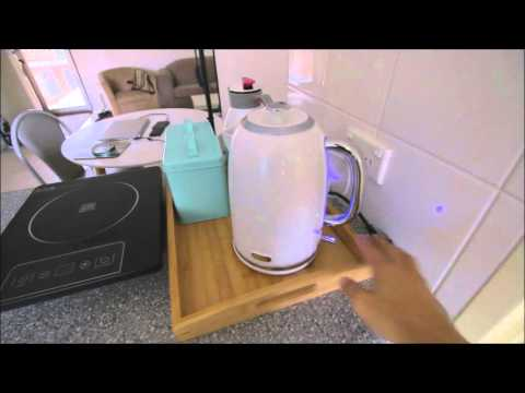 Solar panels in apartment, renewable energy off grid living