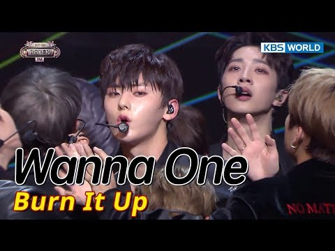 Wanna One - Burn It Up