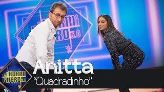 Anitta enseña a Pablo Motos a bailar el